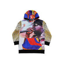 Young Fashion Sport Hoodie Sweatshirt Popular Hip Hop Hoodie Shirt (H5017)