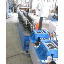 Cross T Grid (T bar) 1200mm em linha, máquina formadora de rolos perfuradores