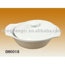 Soupière ovale en porcelaine grossiste