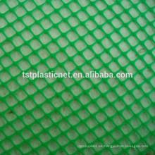 HDPE / POLY malla plana de plástico / red, malla plana de plástico, redes de aves de corral, malla de plástico