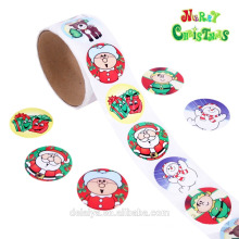 Christmas paper roll sticker