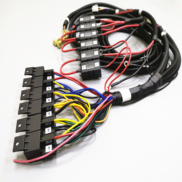 Automotive Relay Wire Harness