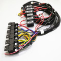 Auto Relay Wire Harness Kotak Fuse yang rumit