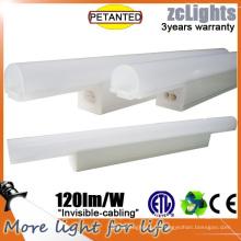 PC Diffuser LED T5 Luz de prateleira Linear Cabinet Lighting