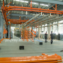 Overhead Continuous Power and Free Conveyor Line