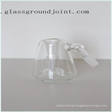 Glass Smoking Water Pipe with Ground Joint