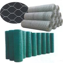 Maillage métallique hexagonale électro galvanisé