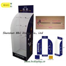 Sous-vêtements d'étagères en papier / vitrine d'affichage en carton (B & C-B025)