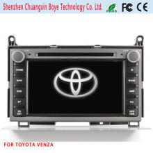 Reproductor de DVD de coche especial Fortoyota Venza con navegación GPS