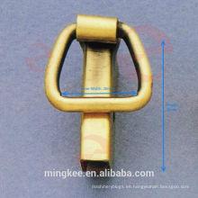 Clip de borde lateral y borde de metal para accesorios de bolsa (F7-151S)