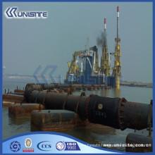 floating pontoon boat pontoon for marine building and dredging(USA1-024)