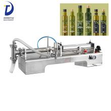 máquina de enchimento de azeite de oliva para garrafa de vidro semiautomática manual