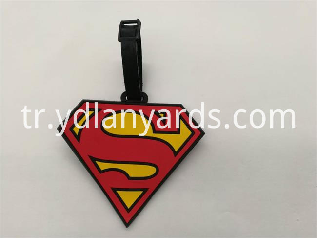 Soft PVC Luggage Tag