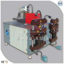 Máquina dobladora punzonadora de corte de procesamiento de barras colectoras