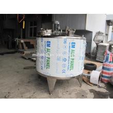 50L 100L 200L Prix de pasteurisateur de lot de jus de lait en acier inoxydable