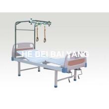 Cama de tração de ortopedia de aço inoxidável de função dupla (A-145)