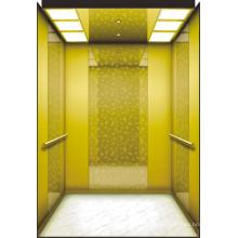 Mrl ascensor de pasajeros con cabina de lujo decoración
