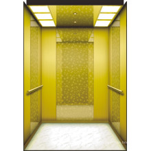 Mrl Passenger Elevator with Luxury Decoration Lift Cabin