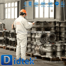 Válvula de compuerta de latón Didtek Alkali
