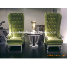 2015 new design Hotel lobby chair and table sets XYD101