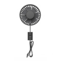hot sale usb mini 3 wind speed electric small fan 360 rotation air cooling car fan