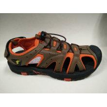 La marca de fábrica de la alta calidad calza las sandalias al aire libre de la playa de los hombres