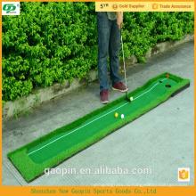 Новинка дешевые гольф положить ковер/мини-гольф в гольф зеленый ковер крытый ковер