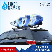 Fábrica de atacado por atacado Kayak Canoe Carrier Kayak Racks