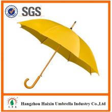 Nuevo producto 2017 que hace publicidad del paraguas de madera proveedor Hangzhou