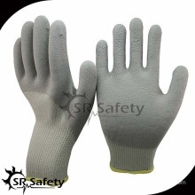 SRSAFETY 10G acrylic latex coated safety working gloves/winter gloves/knitted gloves with latex