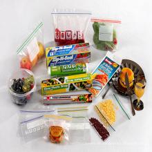 Reißverschluss-Beutel / Schiebe-Beutel, Nahrungsmittelplastiktasche, Nahrungsmittelfrucht-Behälter-Beutel