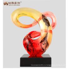 Ручной работы абстрактного искусства интерьера скульптуре украшения ремесла