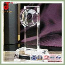 Troféu Cristal Popular 3D (JD-CT-402)