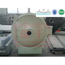 Máquina de secado hotsale redonda estática secadora de vacío Serie YZG secadora