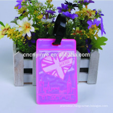fluorescent pvc baggage tag luggage noctilucent