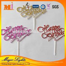 Decoración al por mayor de la torta del feliz cumpleaños de China