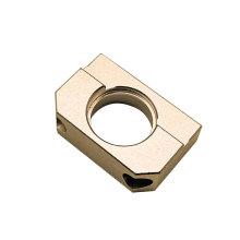 Custom Lazer CNC Metall Parts Milling CNC Low Price Stamped Brass Plate CNC