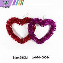 Christmas Decoration Heart Shape Hang Ornament