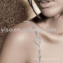 Bracelet soutien-gorge cœur