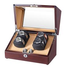Ebenholzfurnier Sheet Watch Winder Box