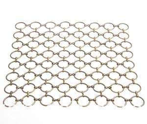 Stainless steel ring decorative wire mesh (1)