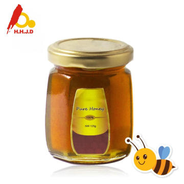 Raw polyflower honey in coffee