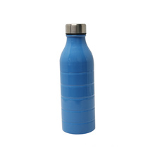 Double wall flask vacuum stainless steel water bottle thermos