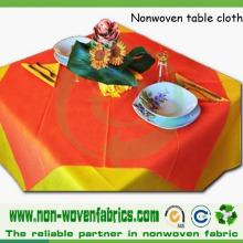 Toalha de mesa descartável não tecida de Spunbond