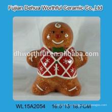 Jarrón de almacenamiento de cerámica de diseño de juguete encantador