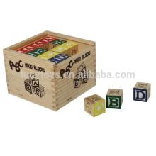 Holz Alphabet Block für Kinder