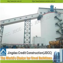 Construcción de estructuras de acero en voladizo