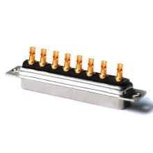 Power D-SUB Mixed Contact Connectors 8W8 Solder Jack