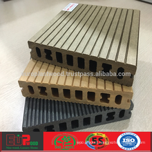 Outdoor WPC decking with weather-resistant and anti-slip