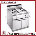 900 Series Central Cooking Range Gas/Electric Industrial Deep Fryer Machine with 2-tank 2-basket